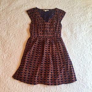 Mata Traders Printed Cotton Dress, Size L